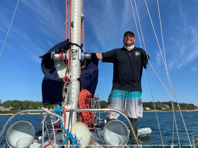 Double Amputee Wants To Be The First To Sail The Globe