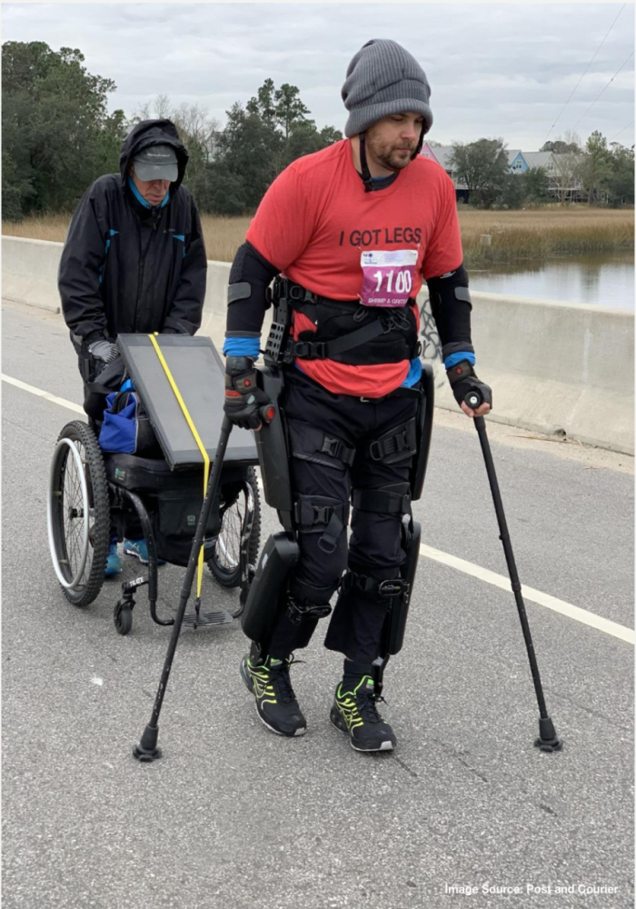 Paralyzed Mount Pleasant man will attempt to break record at Charleston Marathon
