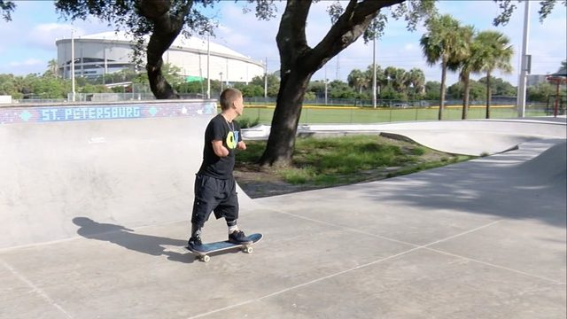 Skateboarder Who Lost Part of Arms, Leg Competing at X Games