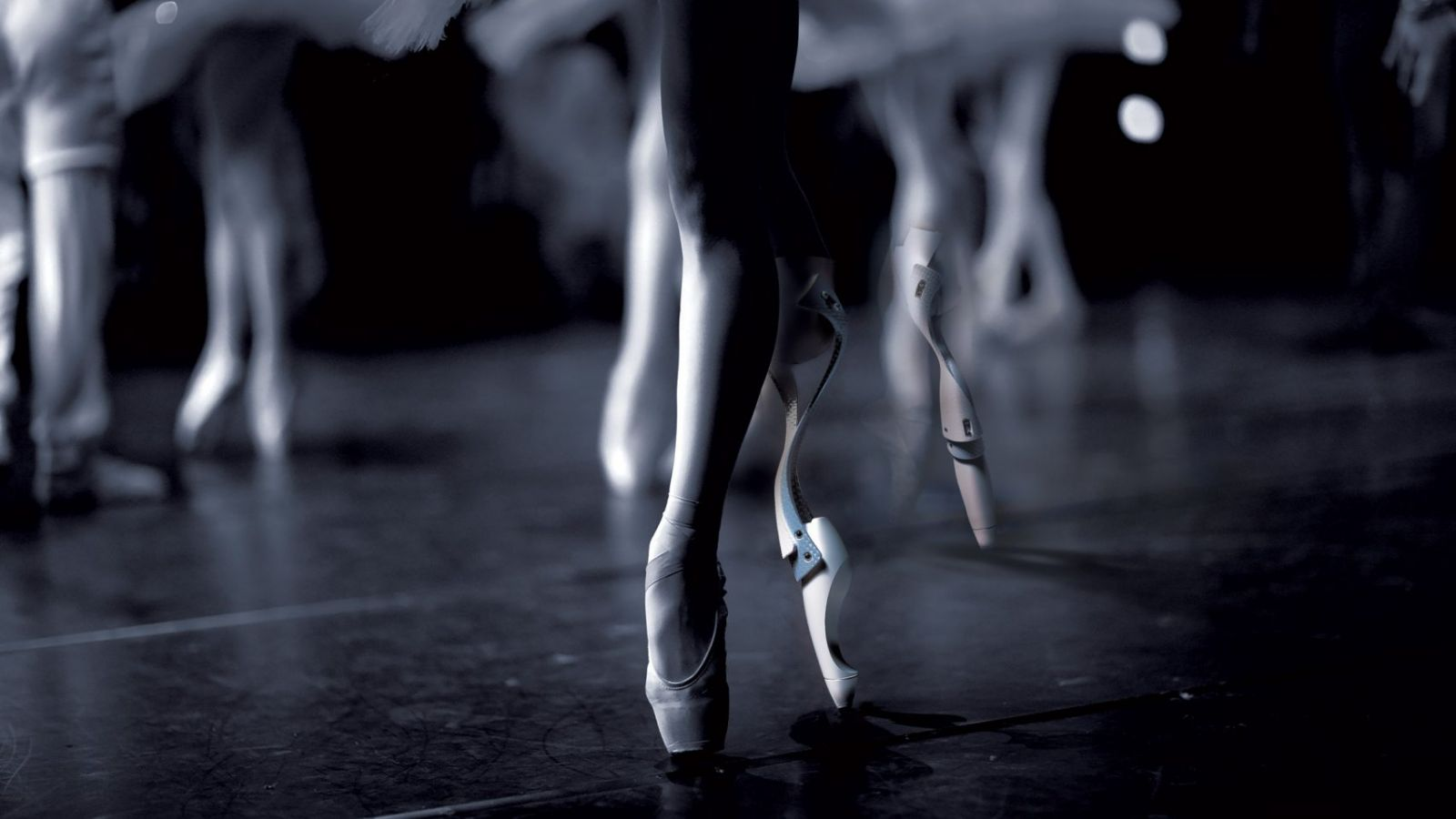 Prosthetic Leg Designed for Ballet Dancers